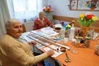 Warsztaty artystyczne w Dziennym Domu Pobytu w Myczkowcach
